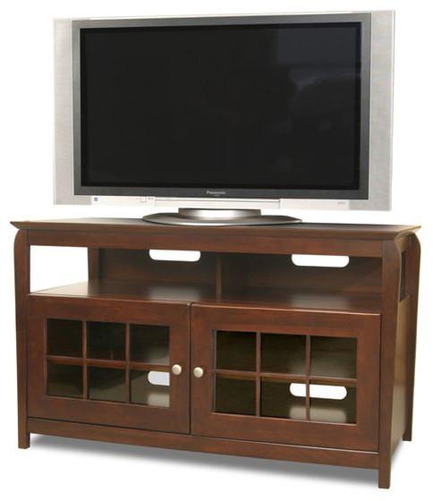 tech craft veneto 48 hi boy wood lcd plasma tv stand. Black Bedroom Furniture Sets. Home Design Ideas