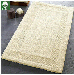 Arizona reversible luzury cotton bath rugs from vita futura contemporary bath mats other - Designer bathroom rugs and mats ...