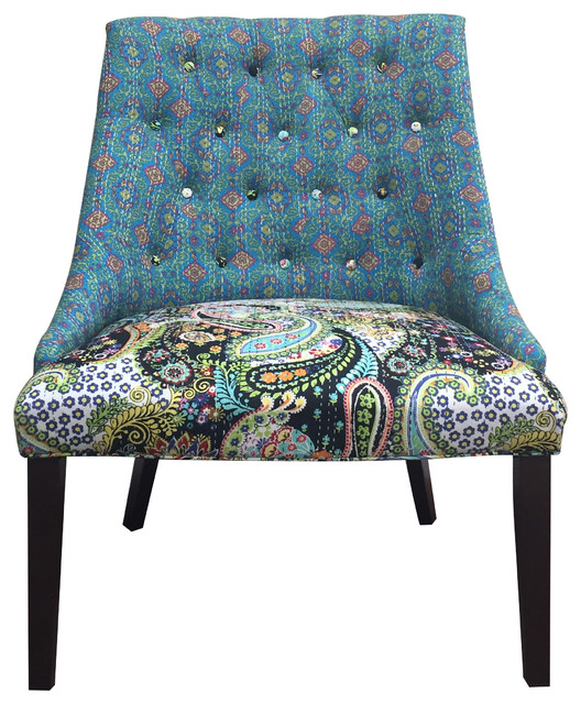 Colorful Accent Chairs: Courtney Colorful Chair Eclectic-armchairs-and-accent-chairs