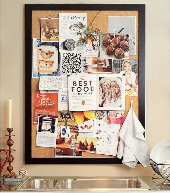 Http Www Houzz Com Photos 123326 Framed Corkboard Traditional Bulletin Boards And Chalkboards