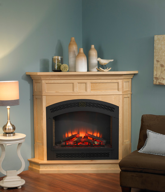 built in electric fireplace contemporary indoor