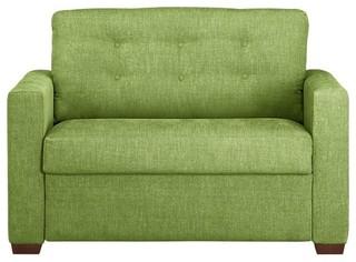Allerton Twin Sleeper Sofa Modern Futons by Crate&Barrel