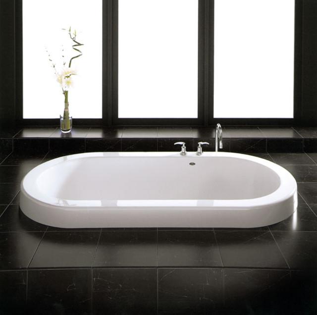 Neptune Zen 36in X 72in Oval Soaking Drop In Bathtub