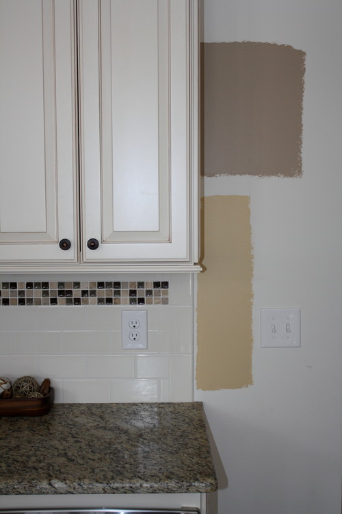 Picking A Paint Color For Kitchen