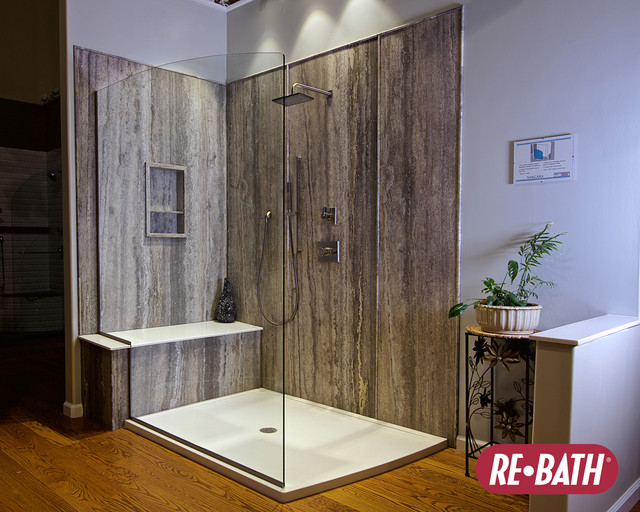 New bathroom remodeling showroom in houston contemporary houston by rebath of houston Bathroom design showrooms houston