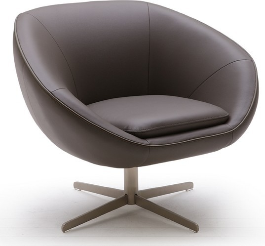 Mordern swivel chair contemporary armchairs and accent for Modern swivel accent chair