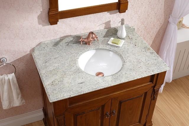 Beautiful Regent Single Wood Vanity  Traditional  Bathroom Vanities And Sink