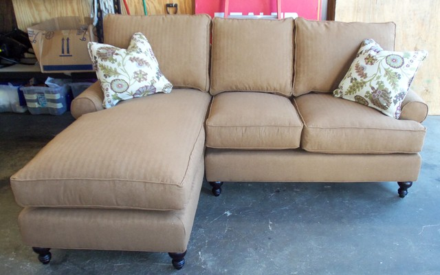 robin bruce cindy sofa  sectional  chair and ottoman - traditional
