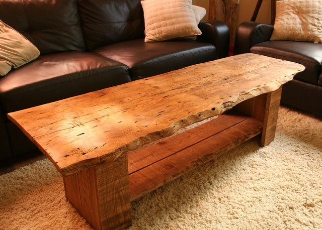 Diy Rustic Style Coffee Table With Reclaimed Wood Diy Reclaimed