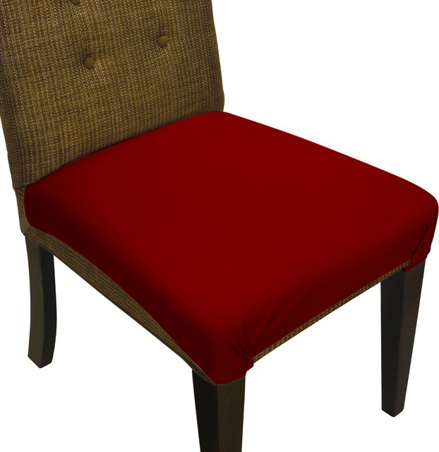Burgundy Dining Room: SmartSeat Dining Chair Seat Cover And Protector, Burgundy