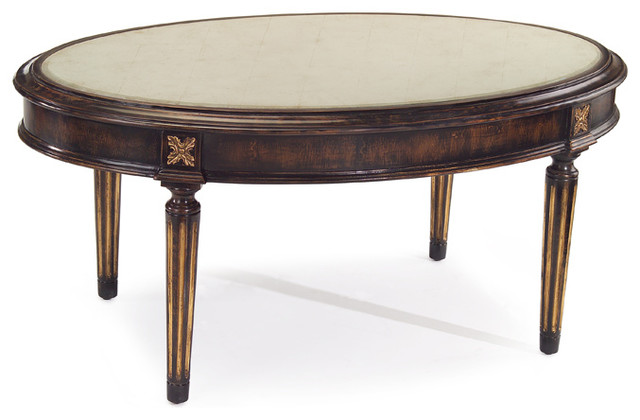 John richard 21 h x 47 5 w x 28 d kent cocktail table for Cocktail table 47