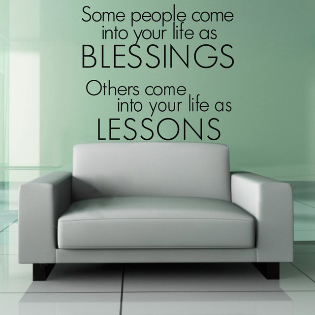Bedroom Wall Decal Some People Come Into Your Life As