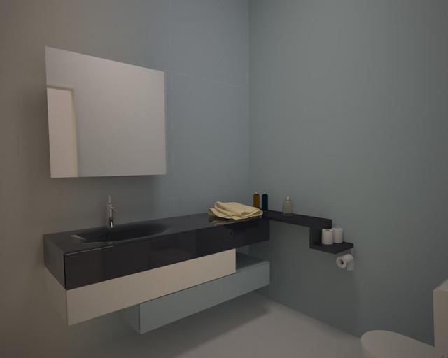 ... San Francisco - Modern - Bathroom Cabinets & Shelves - san francisco