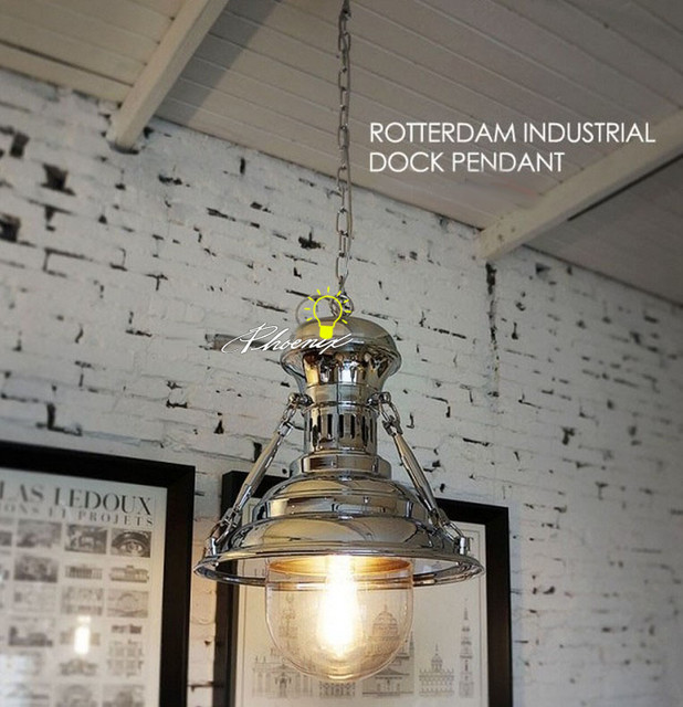 LOFT ROTTERDAM INDUSTRIAL ROCK PENDANT LIGHTING