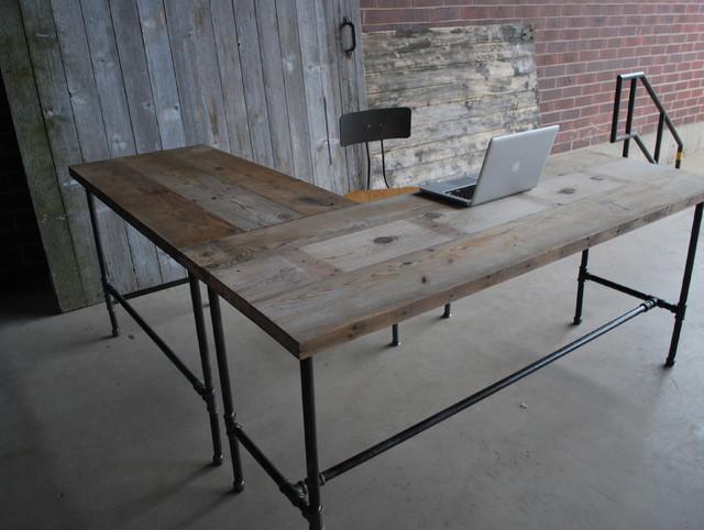 25 Lastest Reclaimed Wood Office Furniture yvotubecom