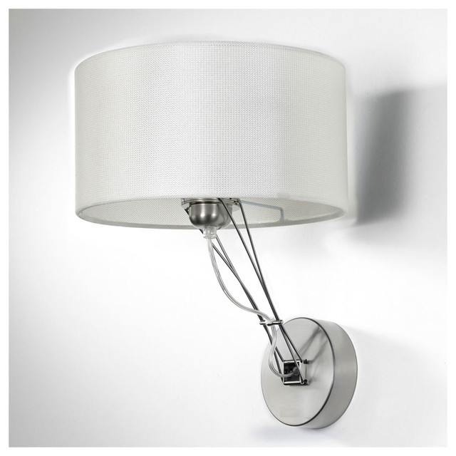 All Modern Wall Sconces : Lizzy Wall Sconce W / Drum Shade - Modern - Wall Sconces - by Lightology