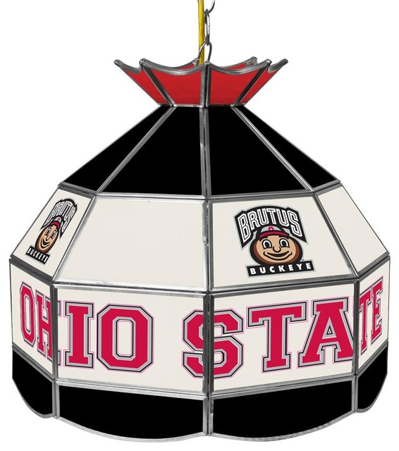 Ohio State University Brutus Stained Glass Ce