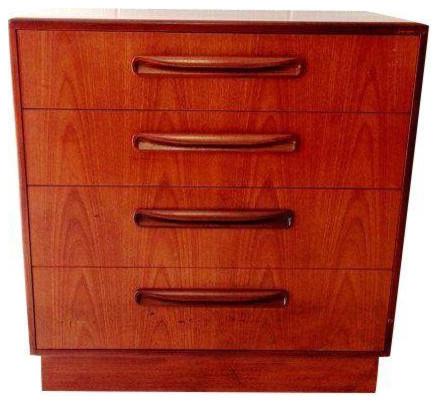 Consigned, Vintage Midcentury 4-Drawer G Plan Fresco Dresser, Teak - Dressers - by Dsarte ...
