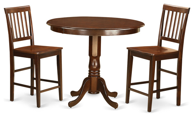 Ada Counter Height Dining Table Set Mahogany 3 Pieces  : dining sets from www.houzz.com size 640 x 386 jpeg 59kB