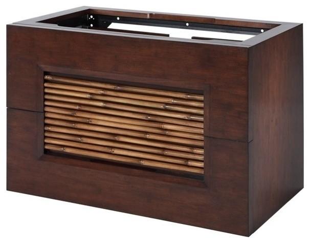 Bambu Vanity Dark Bamboo Modern Bathroom Vanities And Sink Consoles By Home Living Style