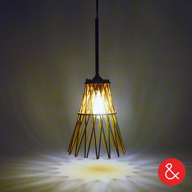 Bundle lamp ampersand moderno l mparas de techo - Lo ultimo en lamparas de techo ...