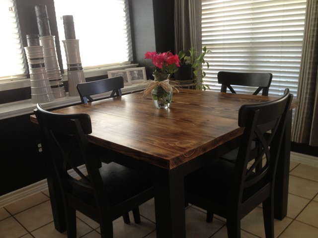 Modern Rustic Kitchen Tables Rustic Texas Property With