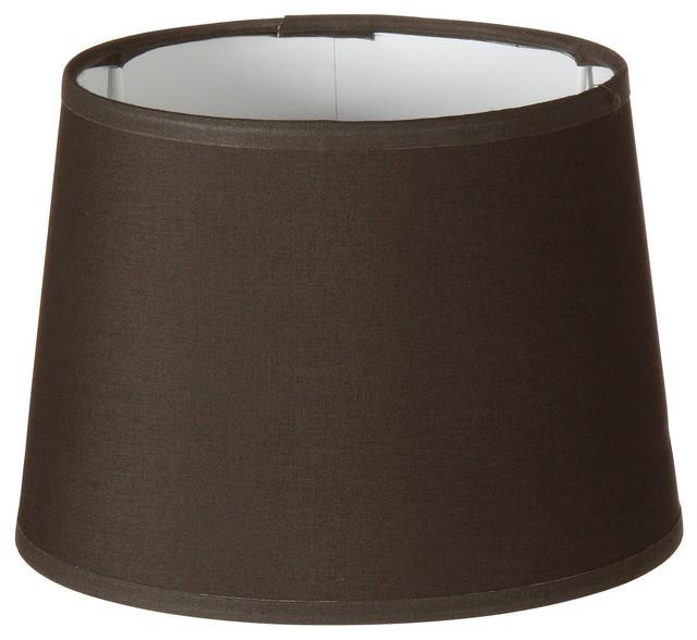 Faa abat jour cylindrique d25cm poivre contemporain abat jour for Abat jour contemporain