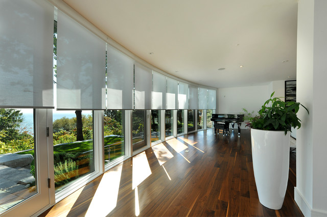 Custom Motorized Blinds For A Home Automation System