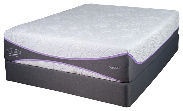 Sealy Optimum Gold Elation Mattress Queen Modern