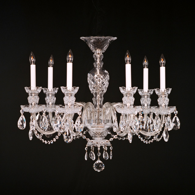 Crystal chandeliers traditional chandeliers raleigh by king 39 s chandelier company - Traditional crystal chandeliers ...