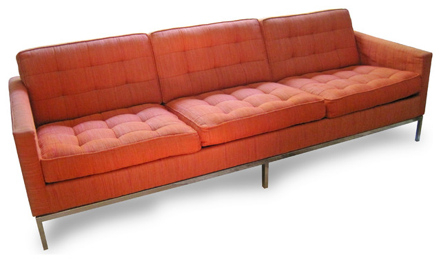 Mid century florence knoll sofa midcentury sofas for Florence modern sectional sofa