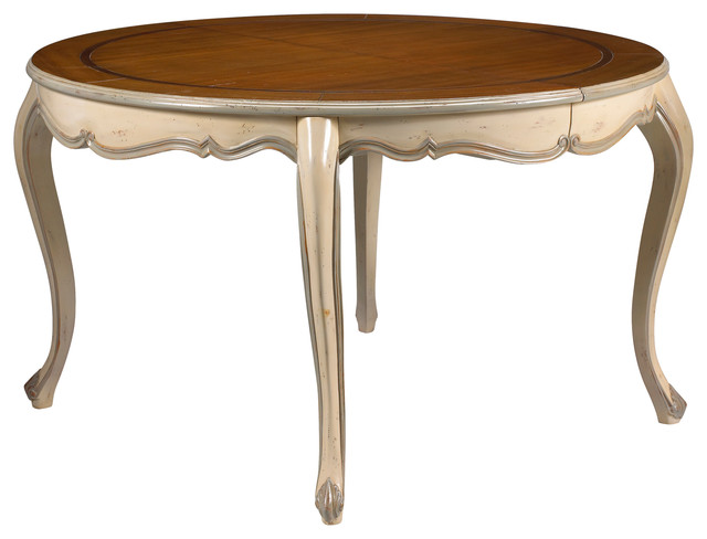 French heritage vernon dining table traditional dining for Traditional dining table uk