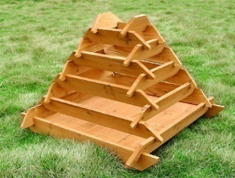 Pyramid Garden Planters Raised Vegetable Planters Outdoor Pots And Planters