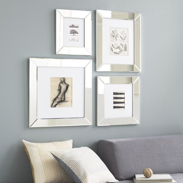 Wall Art In Mirror Frame : Mirror loft frames contemporary picture by