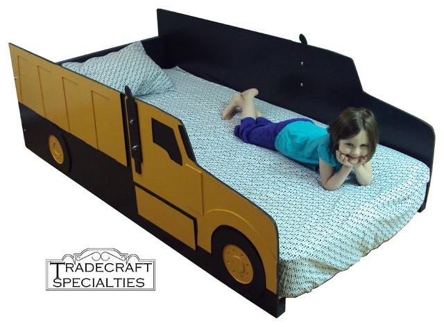 Dump truck style kids bed - Dump truck twin bed ...
