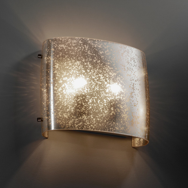 Wall Sconce Mounting Height Ada : Fusion Wide Oval ADA Wall Sconce - Modern - Wall Sconces - by Lightology