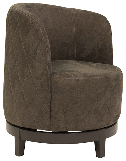 Laura Swivel Chair Eclectic Armchairs and Accent