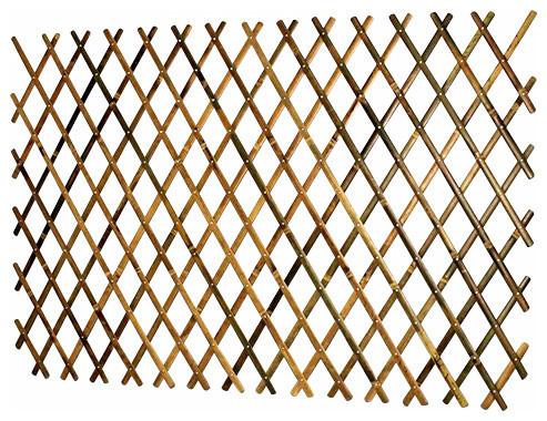 Expandable Bamboo Trellis With Aluminum Rivets Asian