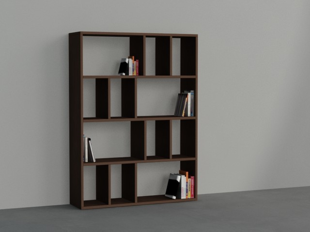 donie bookcase wenge contemporain biblioth que other. Black Bedroom Furniture Sets. Home Design Ideas