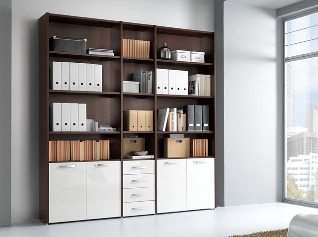 Italian Office Library Unit VV LE5074 - $2,075.00 - Modern - Filing Cabinets - new york - by MIG ...