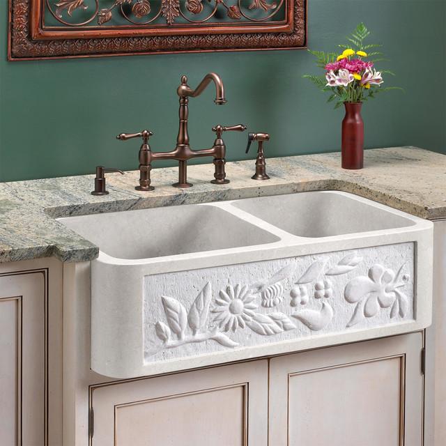 33 White Farmhouse Sink : 33