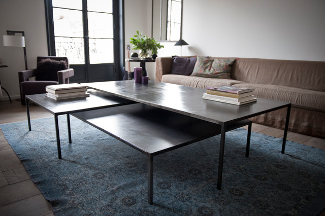 Table basse kl ber for Design couchtisch adrian