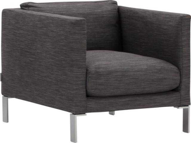 Newman fauteuil en tissu contempor neo sillones y - Sillones contemporaneos ...