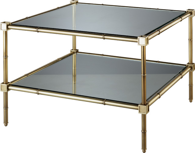 Robert abbey jonathan adler meurice coffee table natural brass contemporary coffee tables Jonathan adler coffee table