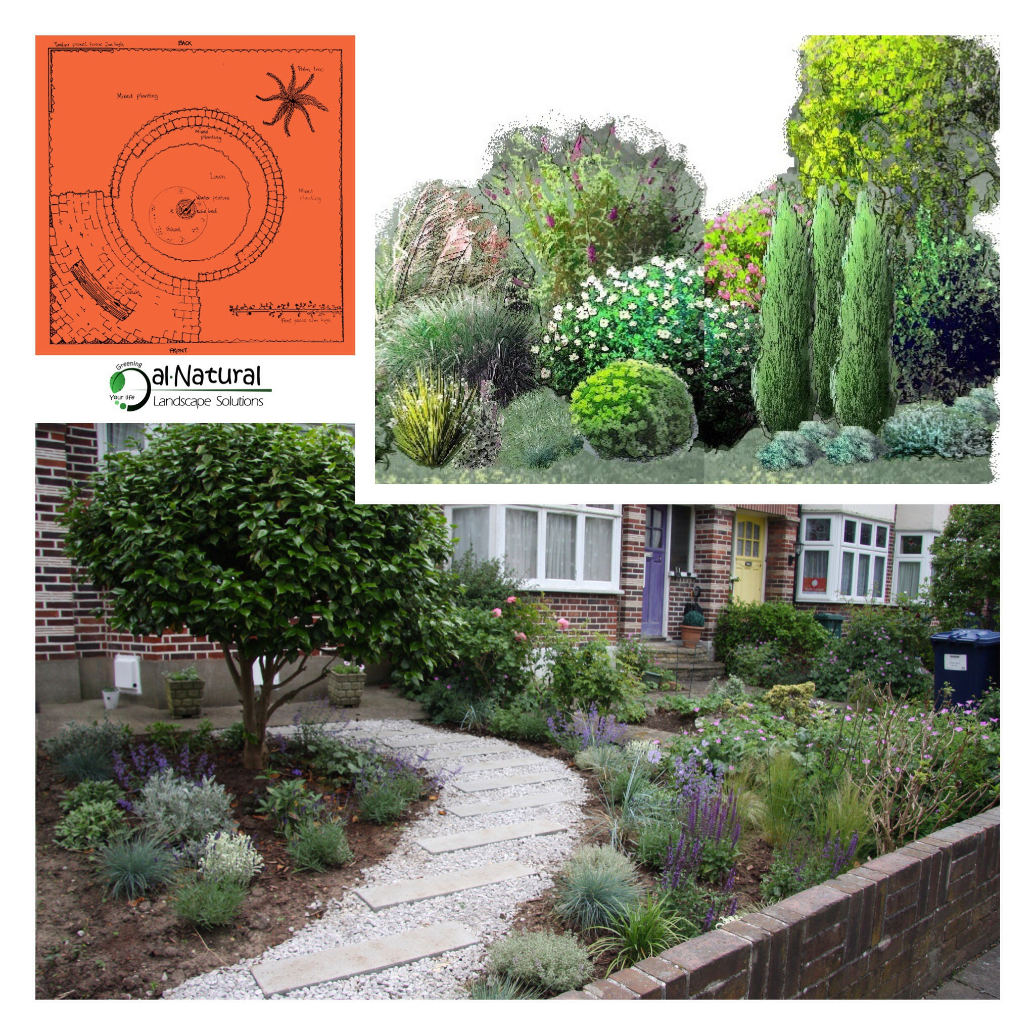 Garden and landscape design in south east london for Garden design east london