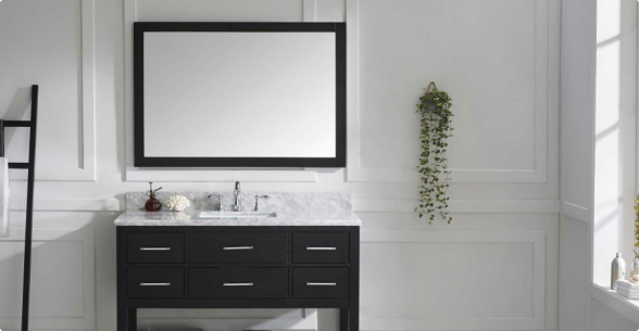 Single-Sink Vanities With Free Shipping