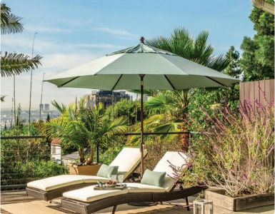 Outdoor Umbrellas and Decor