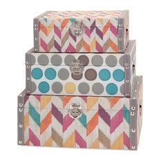 Confetti Boxes, 3-Piece Set