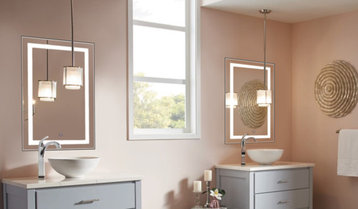 Vanity Lighting and Medicine Cabinets With Free Shipping
