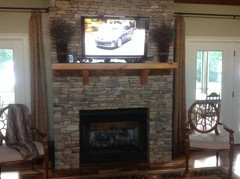 I really want to put my tv over my fireplace but everyone tells me ...
